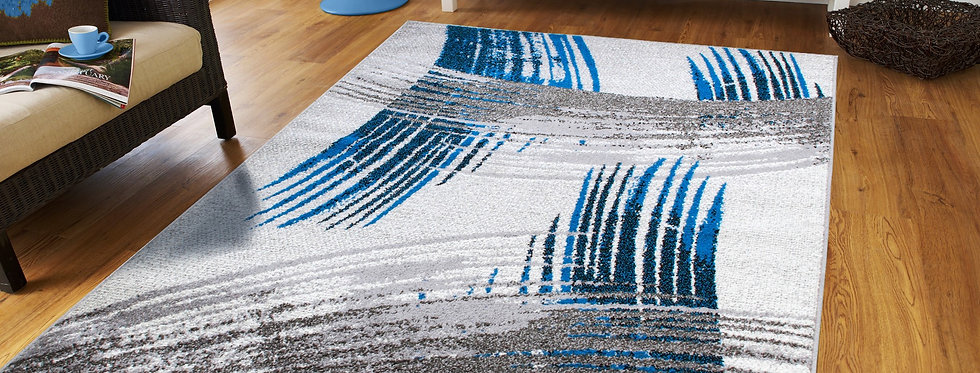Modern Blue Rugs on Clearance