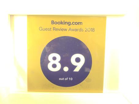 Booking.Com Guest Award 2018