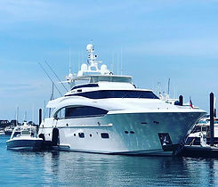 Nice to visit the #yacht I worked on & h