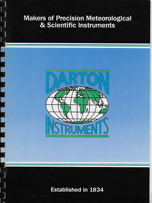 F Darton & Co Ltd. Watford Darton Instruments 1991