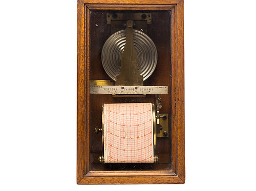 An Early Redier Wall Barograph Retailed by J. Hicks London
