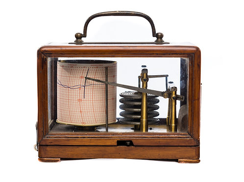 Barograph – Small Pattern by Richard Freres, Paris, Circa 1895