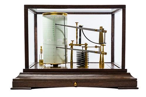 Combined Barograph and Thermograph by Negretti and Zambra London