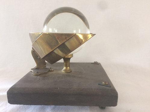 Campbell-Stokes Sunshine Recorder By L Casella Circa 1900Campbell-Stokes Sunshin