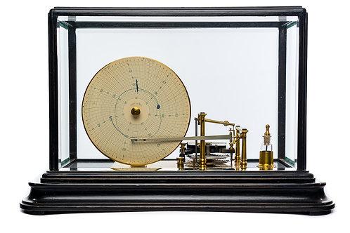 Rare and Stunning Disc Barograph