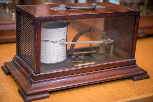 Thermograph made circa 1900 by Townson Mercer of London