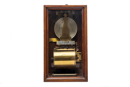 Very Early Redier Wall Barograph