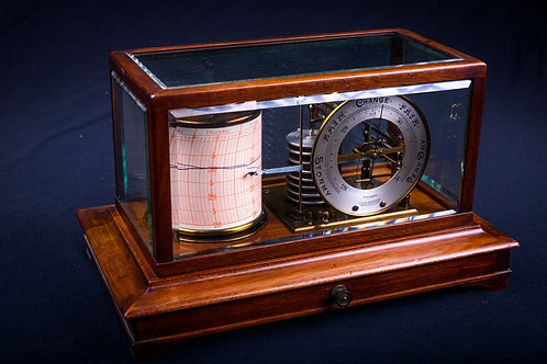 Mid-Edwardian Barograph by W Halden & Co of Manchester, ca. 1925