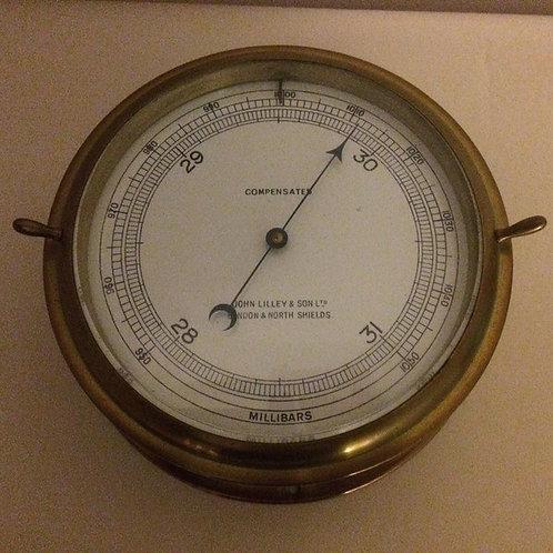 Marine Barometer by John Lilley & Son c. 1930 England