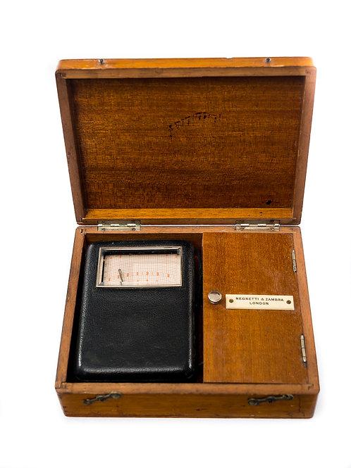 Rare Recording Barometer/Altimeter with Box and Accessories.