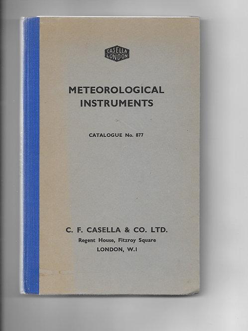 Casella London Catalogue No. 877 1960
