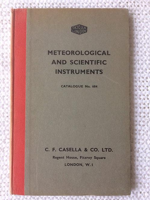 Casella London Catalogue No. 684 Circa 1948