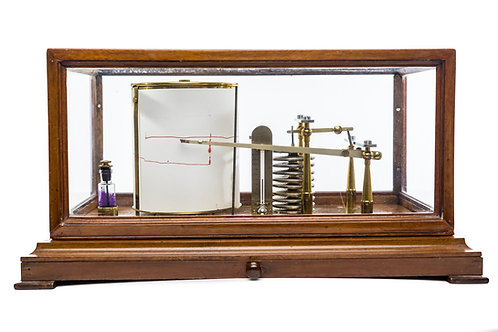 Barograph – Large Pattern Negretti & Zambra, London Circa 1900