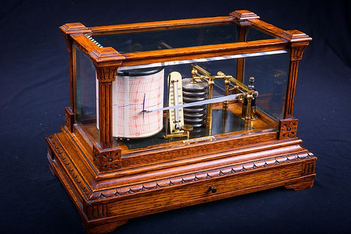 Early Edwardian Barograph, Thomas Armstrong & Brother of Manchester