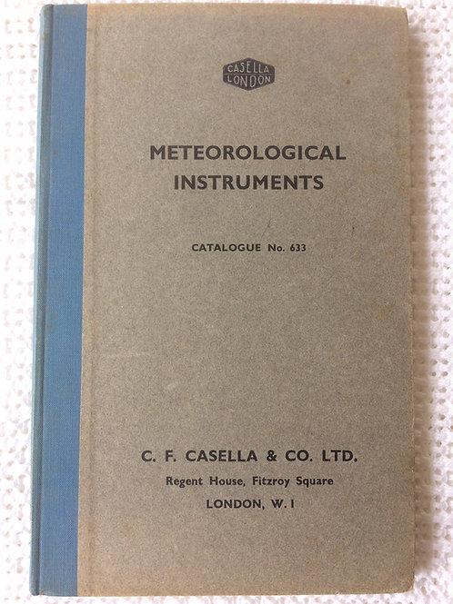 Casella London Catalogue No. 633 Circa 1950s
