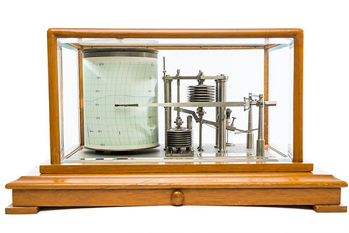 Precision Recording Barometer (Barograph) Negretti & Zambra, London Circa 1950