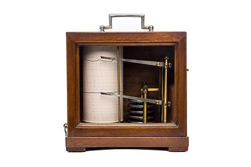 Combined Barograph/Thermograph Lois Maxant, France Circa 1930