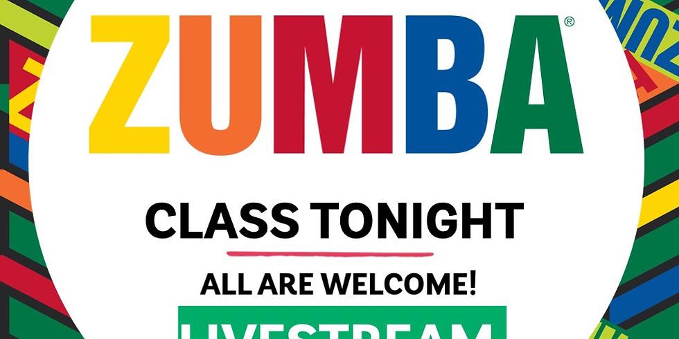 Zumba - Livestream March 1, 2021