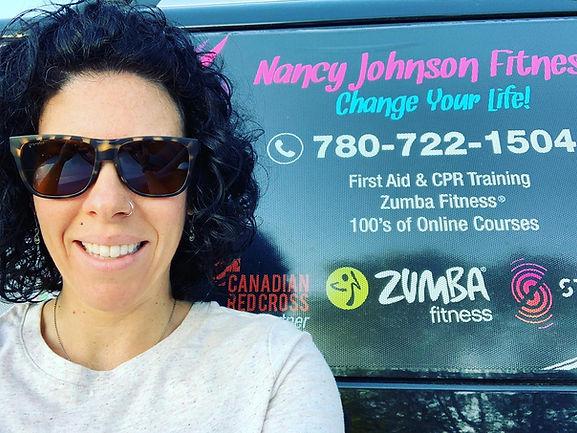 Nancy & truck.jpg