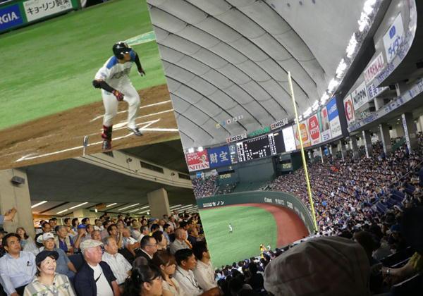 東京美唄会 日本ハム野球観戦