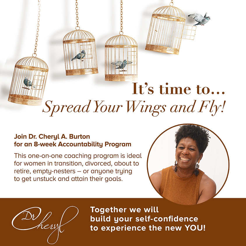 It's time to... Spread Your Wings and Fly!