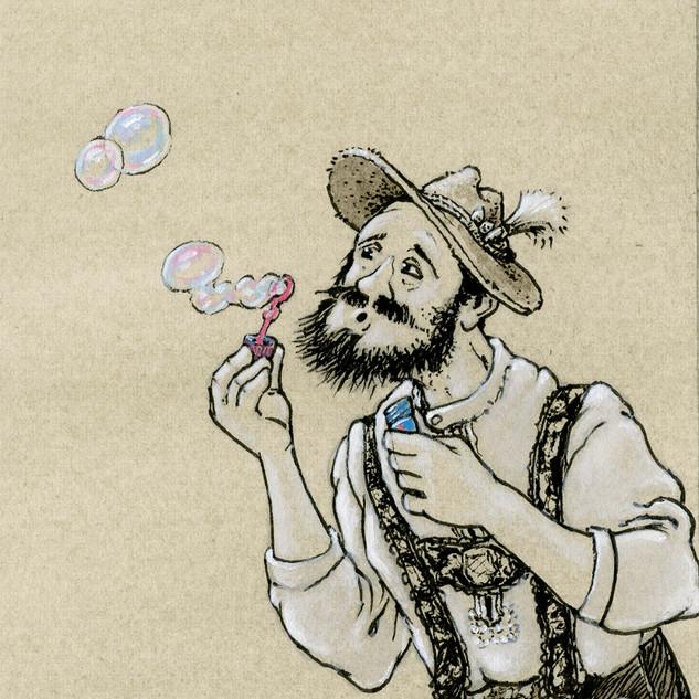 Stiller Protest - Seifenblasen!