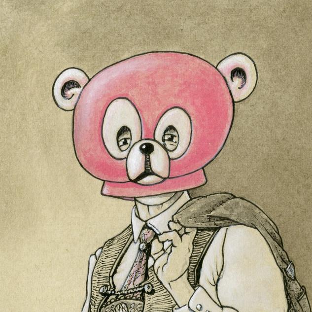 Stiller Protest - Teddymaske!