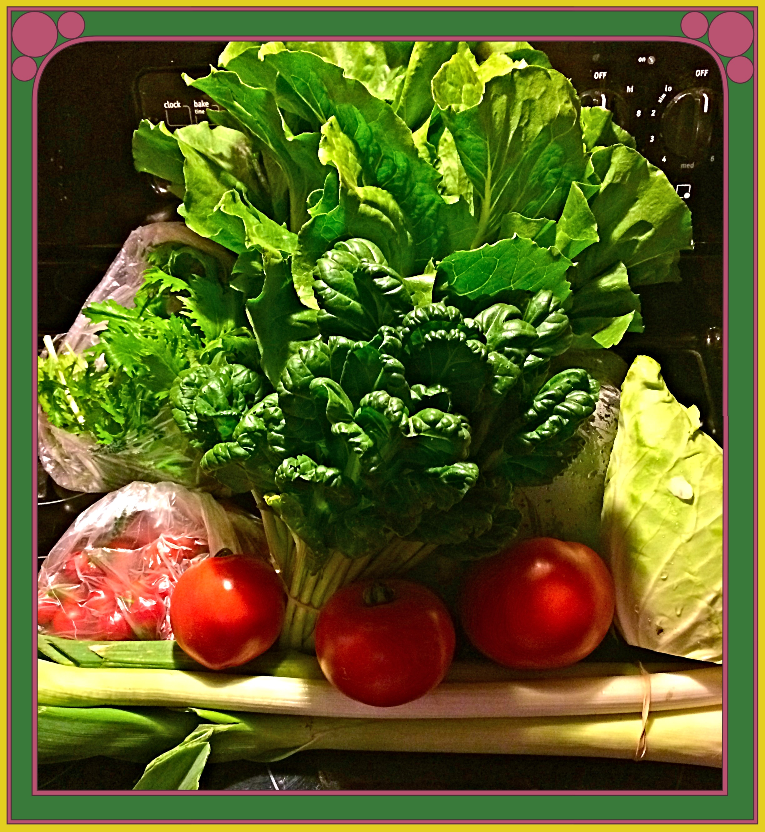 Organic farm fresh CSA