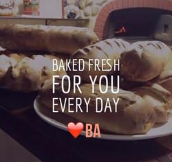 Break bread with friends
