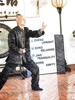 Tai Chi with Dr Ming Wu