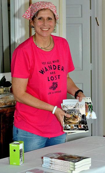 Kim Fleck author signing