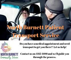 North Burnett Patient Transport Service.