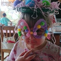 Easter Bonnet creation.JPG