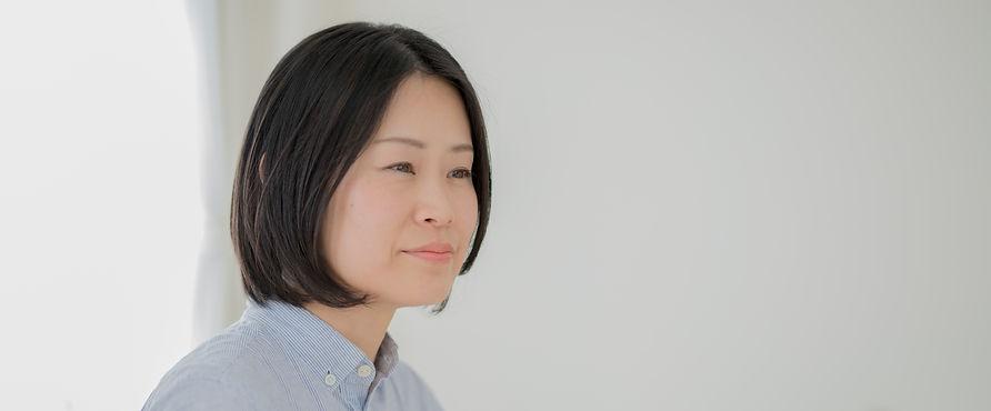 カウンセラー永田悠芽のポートレイト