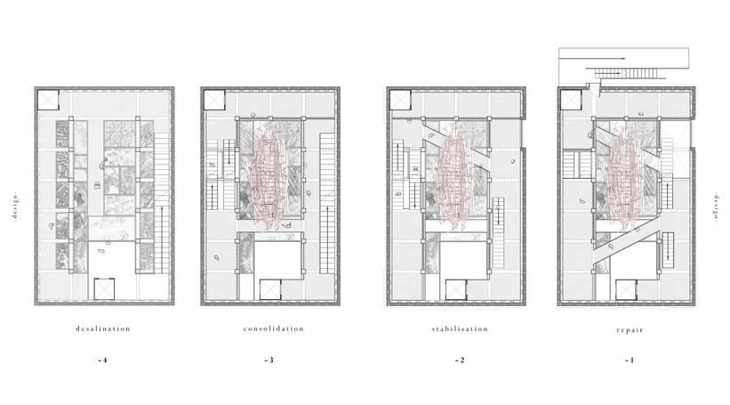 Plans (below ground level)
