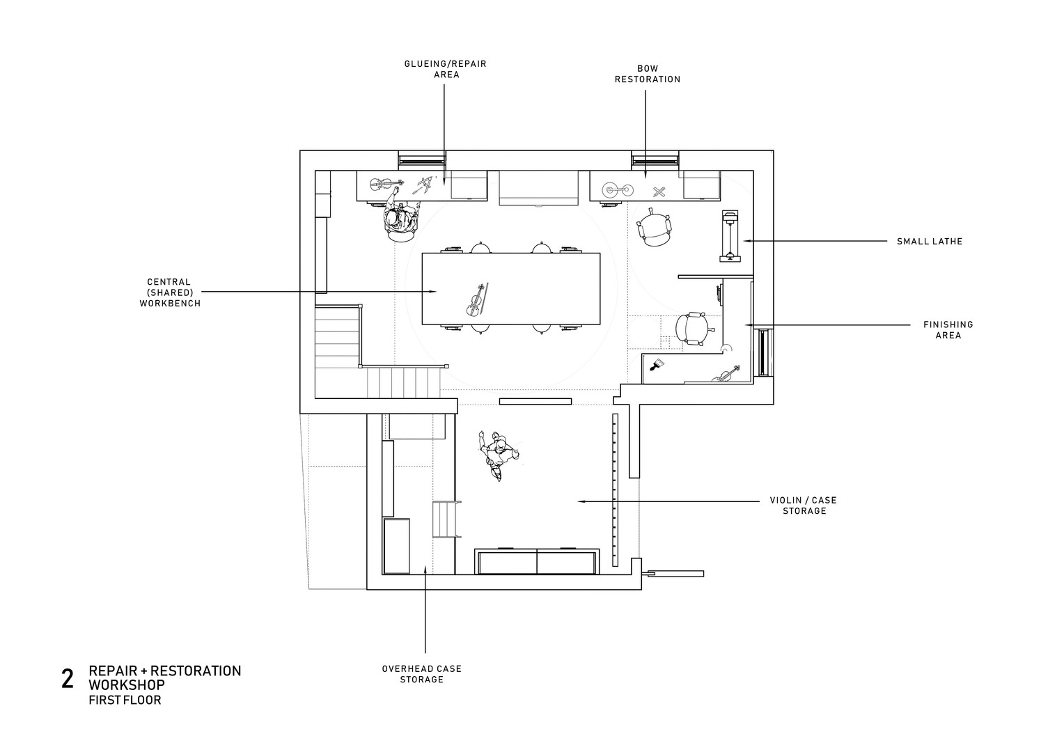 First Floor, Workshop