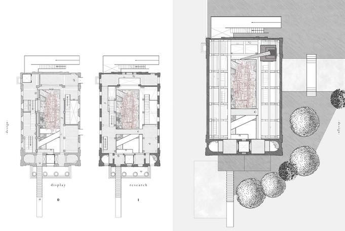 Plans (ground level & above)