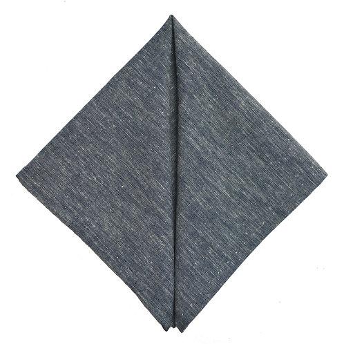 Hand Made Pocket Square Chambray