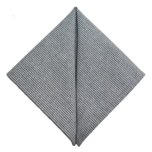 Hand Made Pocket Squares Blue Stripe