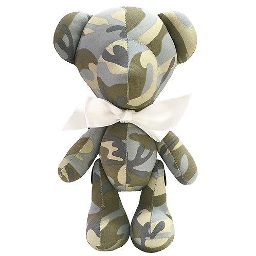 Hand Made Dessert Camouflage Teddy Bear - Size L