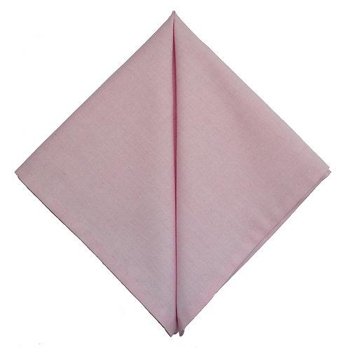 Hand Made Pocket Square Pink