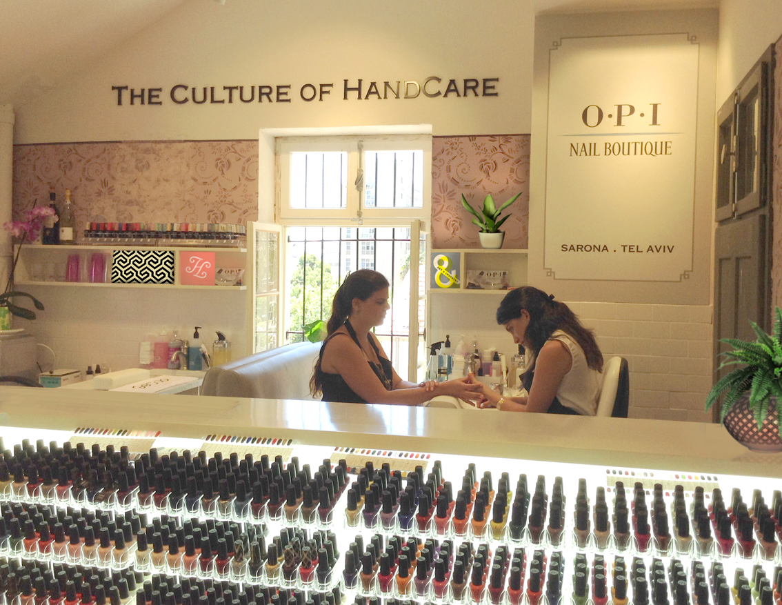 OPI nail boutique חנות ובוטיק מניקור