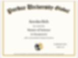 Purdue University Certificate of Complet
