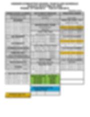 9-19-19 School year Session Class Schedu