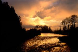 Wallowa River Sunrise