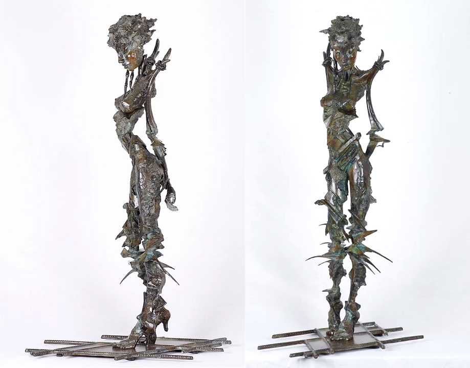 Nude Sketch in Bronze  $12,500