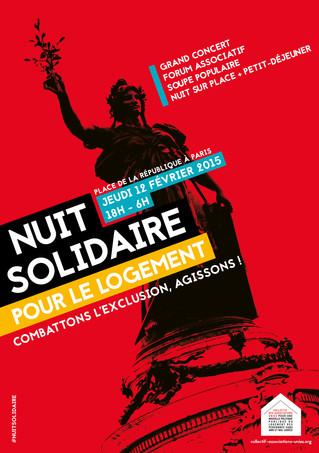 12 février - RDV Nuit solidaire