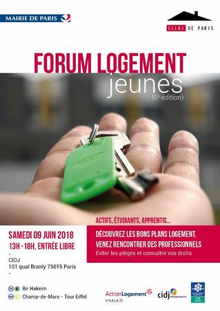 Le Forum Logement pour les jeunes d'Ile-de-France - 09/06