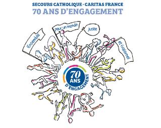 Le Secours Catholique fête ses 70 ans !