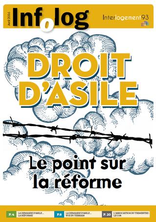 """""""Droit d'asile. Le point sur la réforme"""" - Le nouvel Infolog est disponible !"""